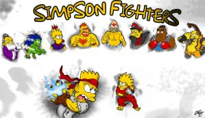 simpson fighter by ZoDy