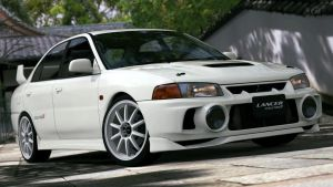 1996 Mitsubishi Lancer Evolution IV (GT5) by Vertualissimo
