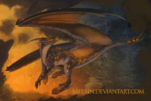 Fire Dragon by Meerin