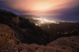 Evening Yalta by Trashins