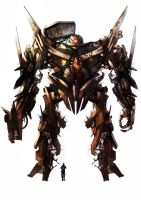 mech concept by jamga