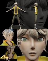 3D Cleon modelling tryout by ahoguu