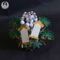 December Kanzashi - Bamboo, Pine, Tags by Arleen