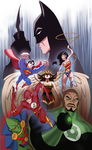 Justice League by UsmanHayat