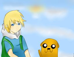Finn and Jake by DigitalKelby