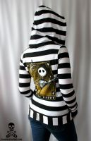 Jack Skellington Hoodie by smarmy-clothes