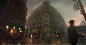 Assassins creed Unity : La Belle Epoque by nachoyague