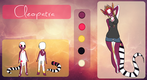 Cleopatra Ref by kittyline13