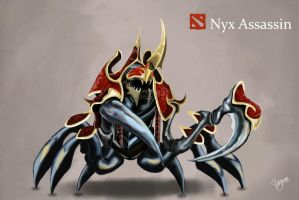 Dota 2 nyx assassin by Synergy14