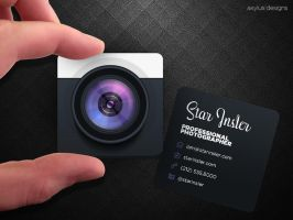 Mini Photographer Business Card by axylus