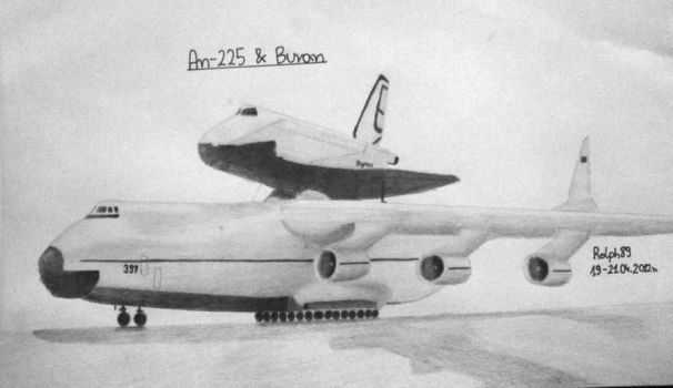 An-225 and Buran by Ralph1989