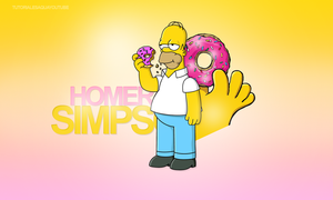 Homero Simpson by Aquatutorials