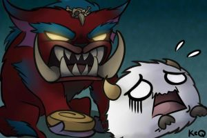 Mega Gnar is Scary by KittyConQueso