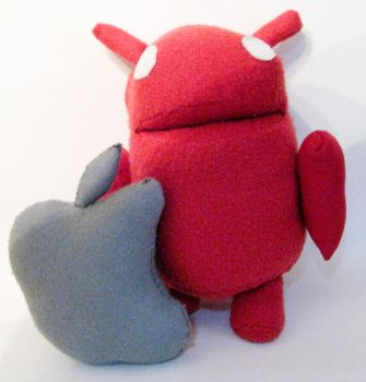 Andy the android plushie by brainspewage