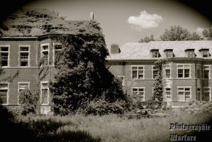 Pennhurst Asylum Buildings by SunsetsAre4Becca