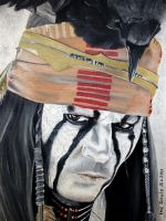 Johnny Depp - Tonto 2 by shaman-art