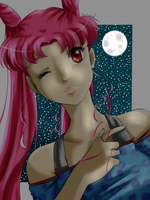 Adult Chibiusa - The Light of the Moon by Heartspowl