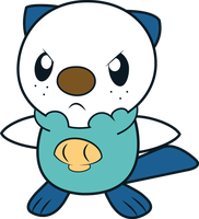 Oshawott - Mijumaru by Dotpeach