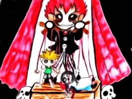 Deathly Puppet Show by TaSaMaBi