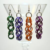 Multiple Shaggy Loops Earrings by Utopia-Armoury