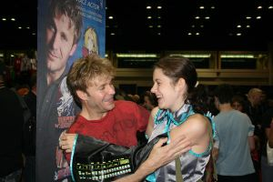 So... I met Vic Mignogna by Beeimus