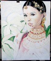 Indian Woman - WIP3 by creativdj