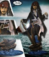 Jack Sparrow by Ackuroon