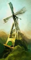 Windmill Windmill by inkvenom