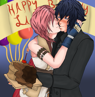 Happy Birthday Rose :Lightis: by Eternal--Epitaph