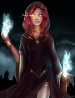 Sorcerer by Elidyss