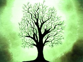My tree by transfigurated