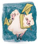 Two Headed Sheep by bullwinkleman