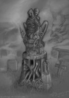 Burial Statue by MFDawes