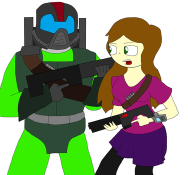 Supersoldier MK-4 and Old Supersoldier by 941214