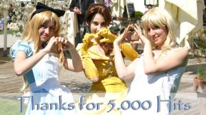 Thanks for 5.000 Hits by Jealles