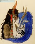 Dare 1: Kiss by ask-Diana-the-dragon