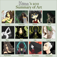 : 2011 Art Summary : by KarolinaNoumenon