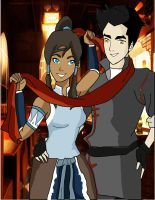 Makorra Come with me... by AryGarmu