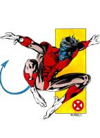 Alan Davis' Nightcrawler by JohnVichlenski