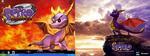 Spyro - Past and Present by CaptainSpyro