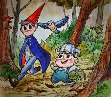 over the garden wall by Lis-Alis