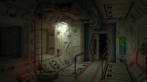 lab zone corridor by 600v