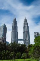 Petronas Towers II by shiroang