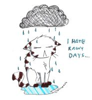 I hate rainy days by Reddari