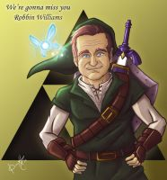 Robbin Williams by Danderfull