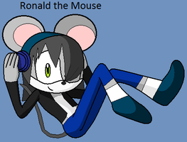 Chaotix- Ronald the Mouse by Emikodo