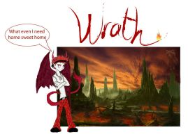 Wrath's home sweet home by firecatshadowof2012
