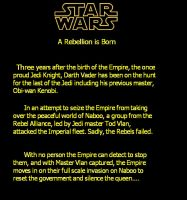 Story 1 Opening Crawl by DarkJedi52