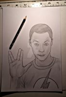 Dr Sheldon Cooper by JW2011