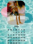 2014 calendar-July by Bj-Lydia